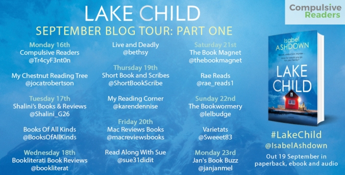 Lake Child Blog Tour Part 1
