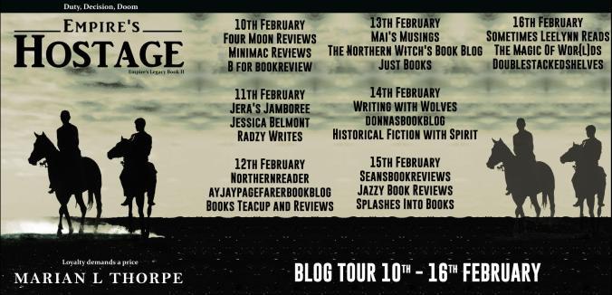 Empires Hostage Full Tour Banner